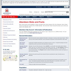 Aberdeen Stats and Facts