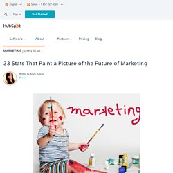 33 Stats That Paint a Picture of the Future of Marketing