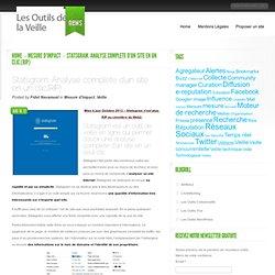 Statsgram. Analyse complete d'un site en un clic