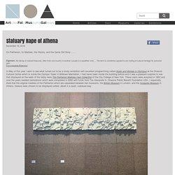 Statuary Rape of Athena