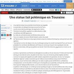 Une statue fait polémique en Touraine