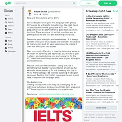 Tips and Tricks before giving IELTS