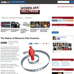 The Status of Women's Film Festivals