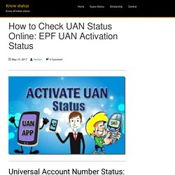 UAN Status Online: How to Check EPF UAN Activation Status