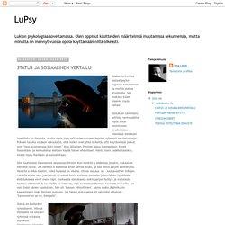 LuPsy: STATUS JA SOSIAALINEN VERTAILU