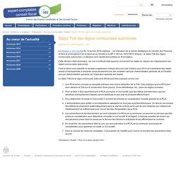 Statut TVA des régies communales autonomes - IEC