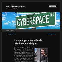Un statut pour le métier de médiateur numérique