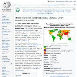 Rome Statute of the International Criminal Court - Article 7 makes mass deportation a crine against humanity - no one knows about this in Britain, we never VOTED for it