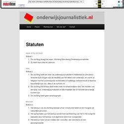 Stichting Stimulering Onderwijsjournalistiek