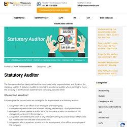 Statutory Auditor