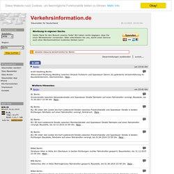 Stau, Staumeldungen, aktueller Staumelder für Berlin
