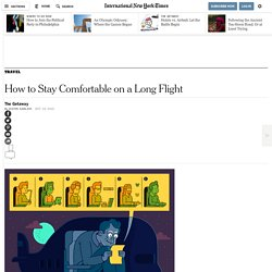 How to Stay Comfortable on a Long Flight