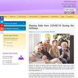 Staying Safe from COVID-19 During the Holidays