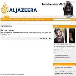 Staying Human - Al Jazeera World
