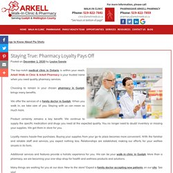 Staying True: Pharmacy Loyalty Pays Off