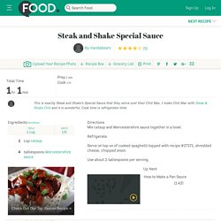 Steak And Shake Special Sauce Recipe