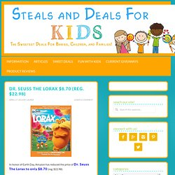 Sweet Deals for Kids