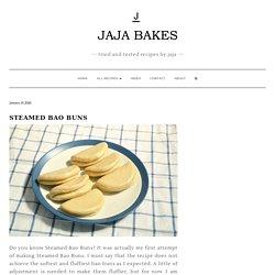 Steamed Bao Buns - Jaja Bakes - jajabakes.com