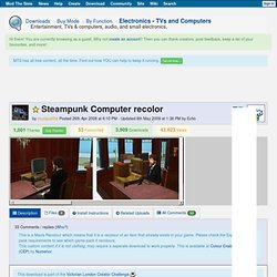 Mod the Sims 2 - Steampunk Computer recolor