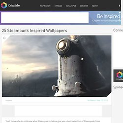 25 Steampunk Inspired Wallpapers