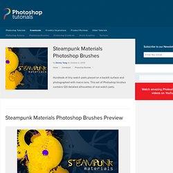 Photoshop Tutorials - Steampunk Materials Photoshop Brushes