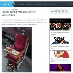 Steampunk Professor Xavier Wheelchair