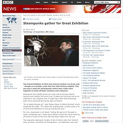 Steampunks gather for Great Exhibition