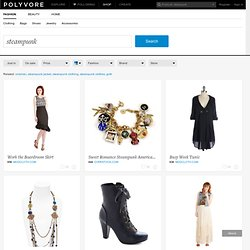 Steampunk - Shop for Steampunk at Polyvore