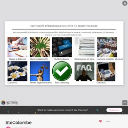 SteColombe by julie.mathieu5 on Genial.ly