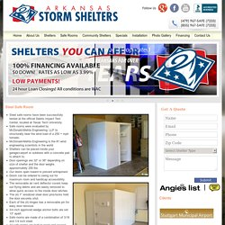 Arkansas Storm Shelters