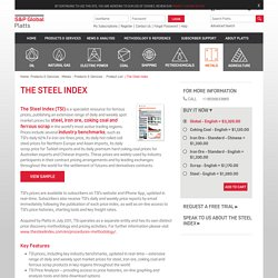 The Steel Index: Global Market Reports
