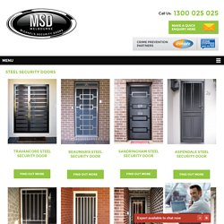 Steel Security Door Cost