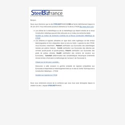 SteelBiz France - Le site portail de la construction métallique
