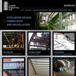Steelwork in London from Artistic Engineering