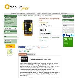 Steens Manuka Honig Aktiv 25+ 500g - Hier kaufen