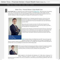 Stefan Terry - Financial Advisor