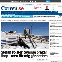 Stefan Fölster: Sverige brakar ihop – men för mig går det bra - Ledare