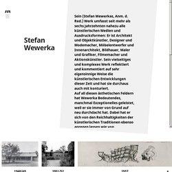 CRÉA: Stefan Wewerka Archiv -D