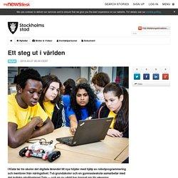 Ett steg ut i världen - Utbildningsförvaltningen Stockholms stad