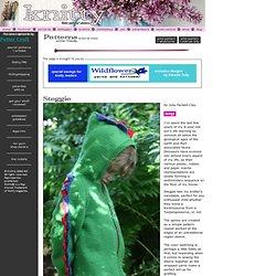 Steggie Kids' Dinosaur Cardigan - Knitty, Spring 2009
