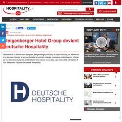 Steigenberger Hotel Group devient Deutsche Hospitality