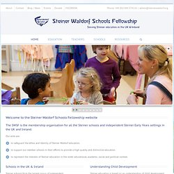 SWSF Member Teaching Vacancies - Steiner Waldorf Schools Fellowship
