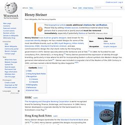 Henry Steiner - Wikipedia, the free encyclopedia