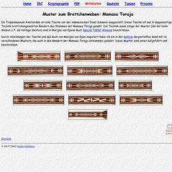 (Steinmaus) Homepage - Brettchenweben: Muster (Mamasa Toraja)