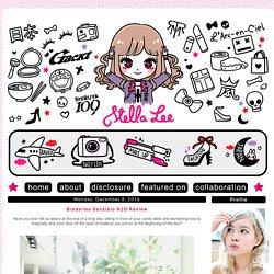 *☆ Stella Lee's Blog ☆*