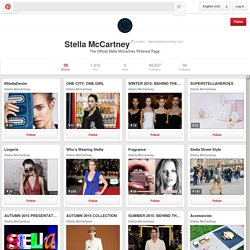 Stella McCartney on Pinterest