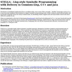 STELLA Programming Language