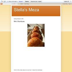 Stella's Meza: Mini Vitumbuas