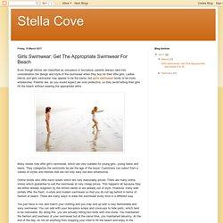 Girls Swimwear: Get The Appropriate Swimwear For Beach