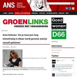 Anne Dohmen: 'Als je twee jaar lang stelselmatig in elkaar wordt geramd, word je vanzelf gelatener.'